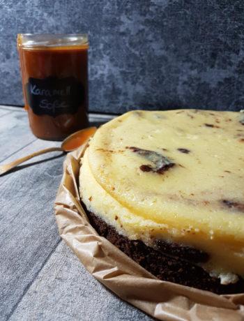 Schokoladen Kirschkuchen Mit Baileys Glasur Tinas Kuchenzauber
