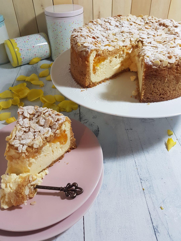 Amarettini Kuchen Mit Aprikosen Tinas Kuchenzauber